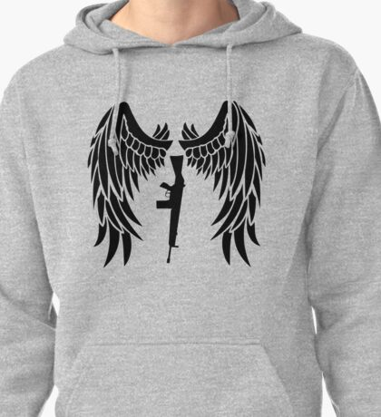 Angel with a Shotgun -The Cab Pullover Hoodie