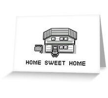 Pokemon Home Sweet Home Greeting Card