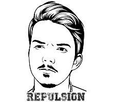 Repulsion Face Photographic Print