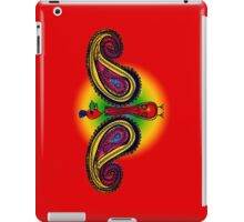 Tribal Paisley Peacock iPad Case/Skin