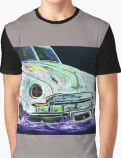 Ghost Car Graphic T-Shirt