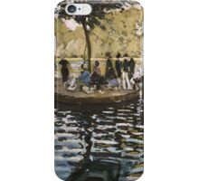 Summer - Claude Monet - La Grenouillere Impressionism iPhone Case/Skin