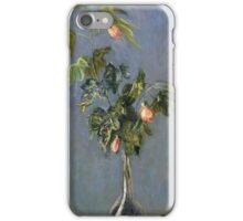 Claude Monet - Flowers In A Vase Impressionism iPhone Case/Skin