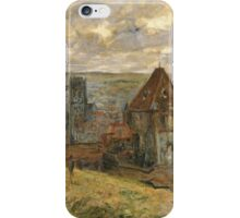 Claude Monet - Dieppe Fine Art Impressionism iPhone Case/Skin
