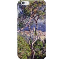Claude Monet - Bordighera 1884  Impressionism . Famous paintings iPhone Case/Skin