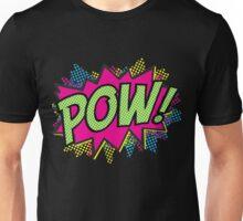 Pow!  Cartoon Sound Effect Unisex T-Shirt