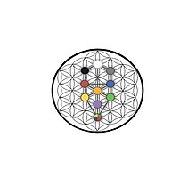 Kabbalistic Imagery Photographic Print