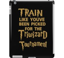 train tournament iPad Case/Skin