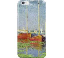 Claude Monet - Argenteuil 1882 iPhone Case/Skin