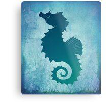 Seahorse of a Different Color ~ Marine Life Metal Print