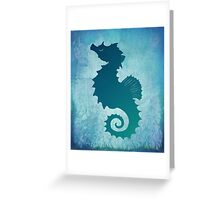 Seahorse of a Different Color ~ Marine Life Greeting Card