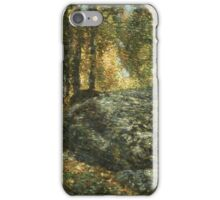 Vintage famous art - Childe Hassam - The Jewel Box, Old Lyme iPhone Case/Skin