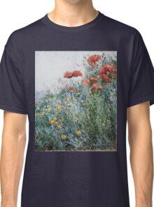 Vintage famous art - Childe Hassam - Poppies, Appledore Classic T-Shirt