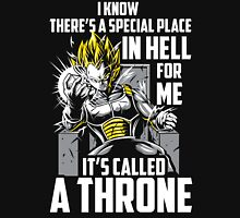 Super Saiyan Vegeta Throne Shirt Unisex T-Shirt