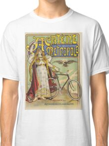 Vintage famous art - Charles Tichon - After Lucien Baylac - Acatene Metropole Poster  Classic T-Shirt