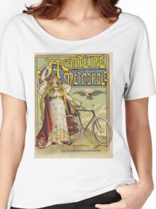 Vintage famous art - Charles Tichon - After Lucien Baylac - Acatene Metropole Poster  Women's Relaxed Fit T-Shirt