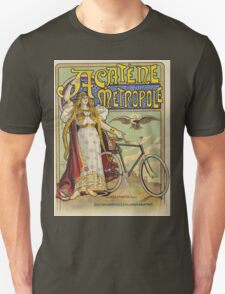 Vintage famous art - Charles Tichon - After Lucien Baylac - Acatene Metropole Poster  Unisex T-Shirt