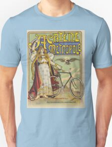 Vintage famous art - Charles Tichon - After Lucien Baylac - Acatene Metropole Poster  Unisex T-Shirt