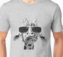 Giraffe With Eyeglass Unisex T-Shirt