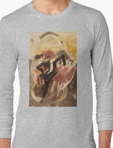 Vintage famous art - Charles Demuth - In Vaudeville (Dancer With Chorus) Long Sleeve T-Shirt