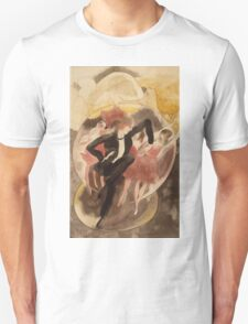 Vintage famous art - Charles Demuth - In Vaudeville (Dancer With Chorus) Unisex T-Shirt