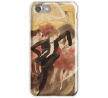 Vintage famous art - Charles Demuth - In Vaudeville (Dancer With Chorus) iPhone Case/Skin
