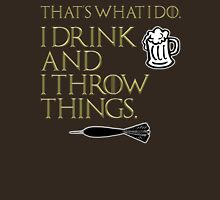 I Drink And I Throw Things Classic T-Shirt