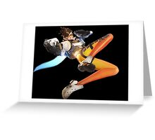 Overwatch - Tracer Stance Greeting Card