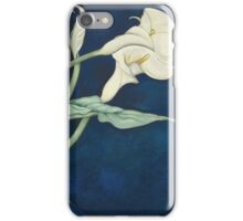 Vintage famous art - Charles Demuth - Calla Lilies (Bert Savoy) iPhone Case/Skin