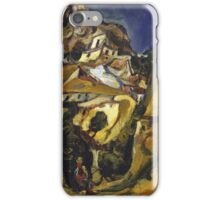 Vintage famous art - Chaim Soutine - Landscape At Cagnes iPhone Case/Skin