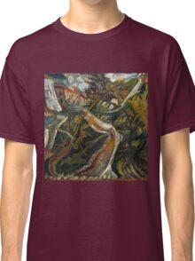 Vintage famous art - Chaim Soutine - Chemin De La Fontaine Des Tins At Céret Classic T-Shirt