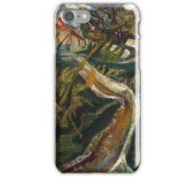 Vintage famous art - Chaim Soutine - Chemin De La Fontaine Des Tins At Céret iPhone Case/Skin