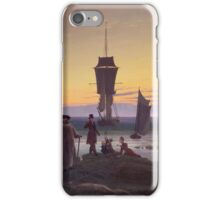 Vintage famous art - Caspar David Friedrich  - The Stages Of Life iPhone Case/Skin
