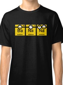 Minion Banana Periodic Table Classic T-Shirt