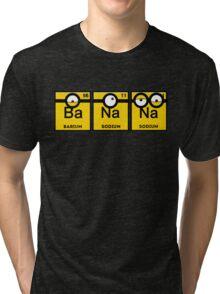 Yellow Banana Periodic Table Tri-blend T-Shirt