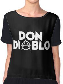Don Diablo Chiffon Top