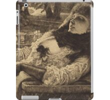 Vintage famous art - James Tissot - Summer Evening iPad Case/Skin