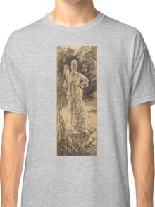 Vintage famous art - James Tissot - Spring (Printemps)1878 Classic T-Shirt