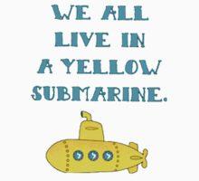 Yellow Submarine One Piece - Short Sleeve