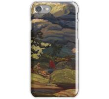 Vintage famous art - James Edward Hervey Macdonald - The Elements  iPhone Case/Skin
