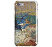 Vintage famous art - James Edward Hervey Macdonald - Falls, Montreal River  iPhone Case/Skin