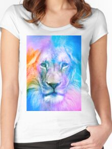 Blue Lion Women's Fitted Scoop T-Shirt