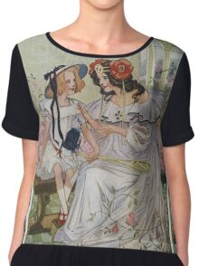 Vintage famous art - Dorothy And The Wizard Of Oz  - Now I Begin To Understand,  Said The Princess Chiffon Top