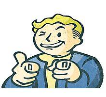 Vault Boy Charisma Fallout 4 Photographic Print