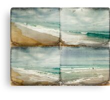 Sea and Waves Mosaic Canvas Print