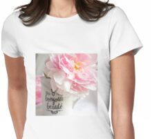 bonjour beaute' Womens Fitted T-Shirt