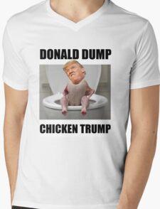 Chicken Trump Mens V-Neck T-Shirt