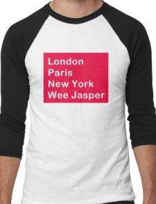 Where in the world? Men's Baseball ¾ T-Shirt