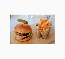 Wagyu Beef Burger with Cajun Fries Unisex T-Shirt