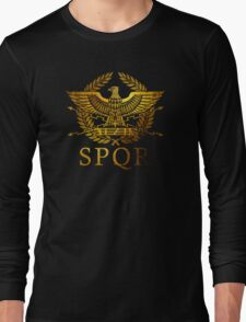 SPQR Rome  Long Sleeve T-Shirt